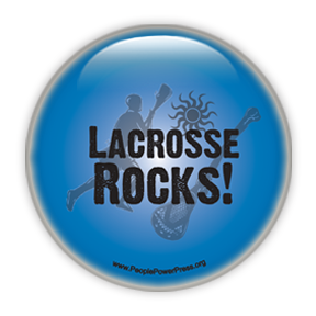 "Lacrosse Rocks ""Blue"" - Lacrosse/Sports"