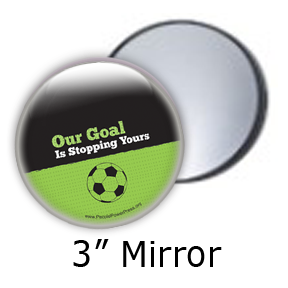 "Our Goal is to Stop Yours ""Green"" - Soccer/Sports"