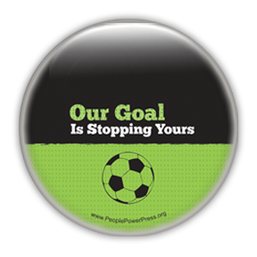 soccer button design