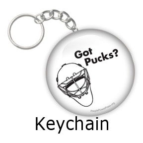 Hockey Keychain Design