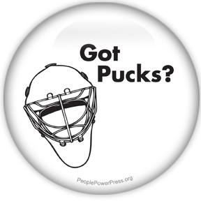 Hockey Button Designs