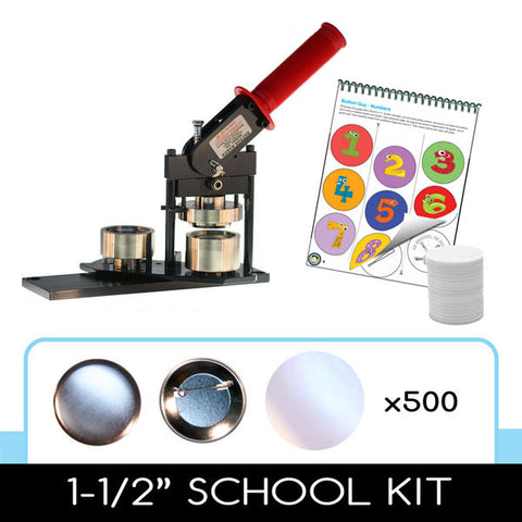 School Button Making Kit