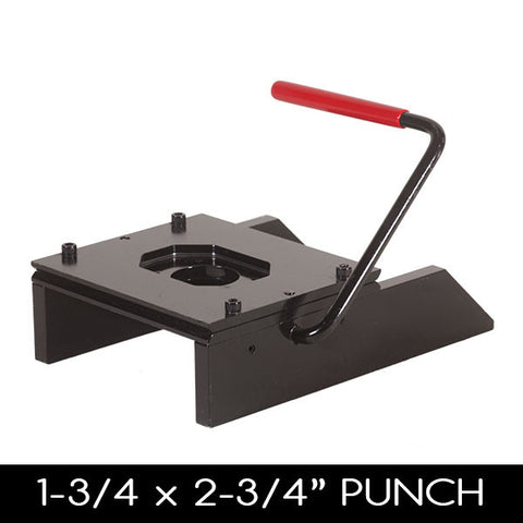 "1.75 x 2.75"" Rectangular Button Making Punch"