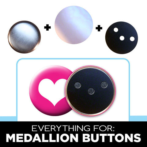 "everything for 2"" medallion buttons"