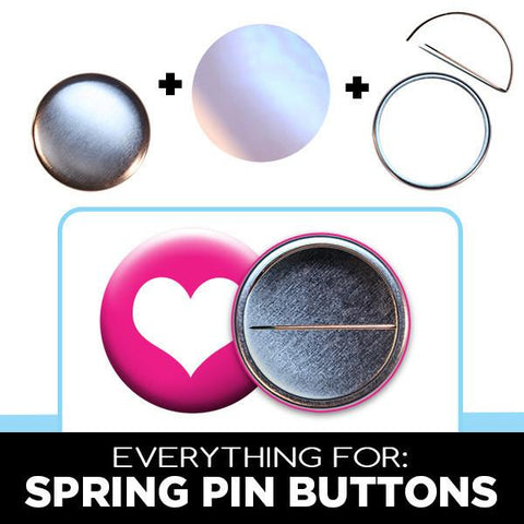 2.25 inch spring pin button parts