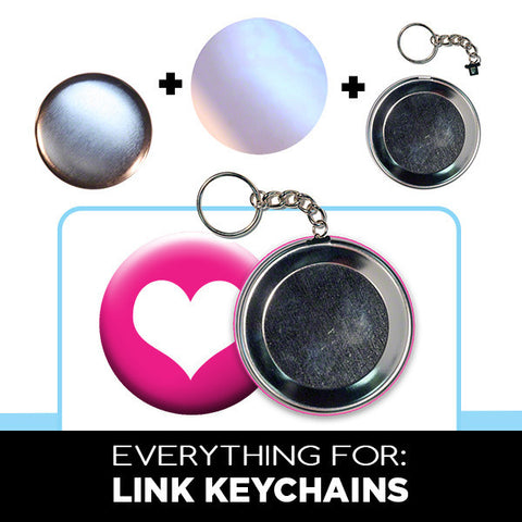 2.5 inch link keychain supplies