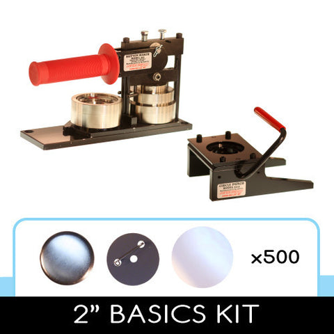"2"" button maker and punch"