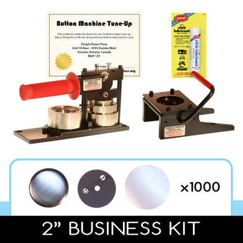 2 inch professional button maker kit