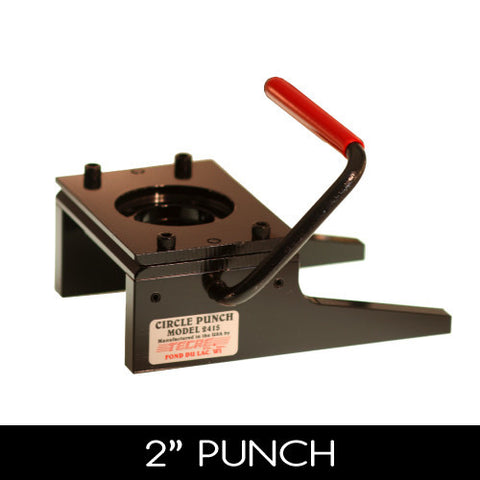 "2"" graphic circle punch"