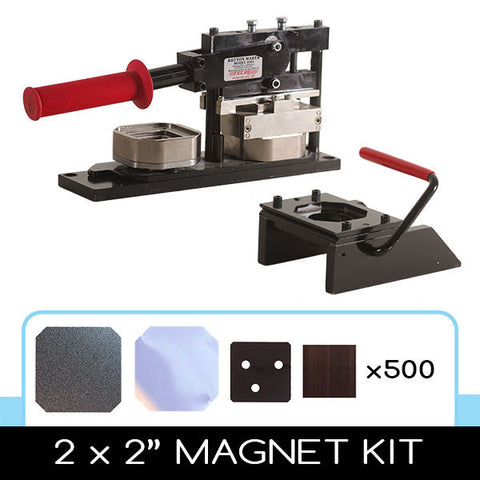 2 x 2 inch square magnet diy kit