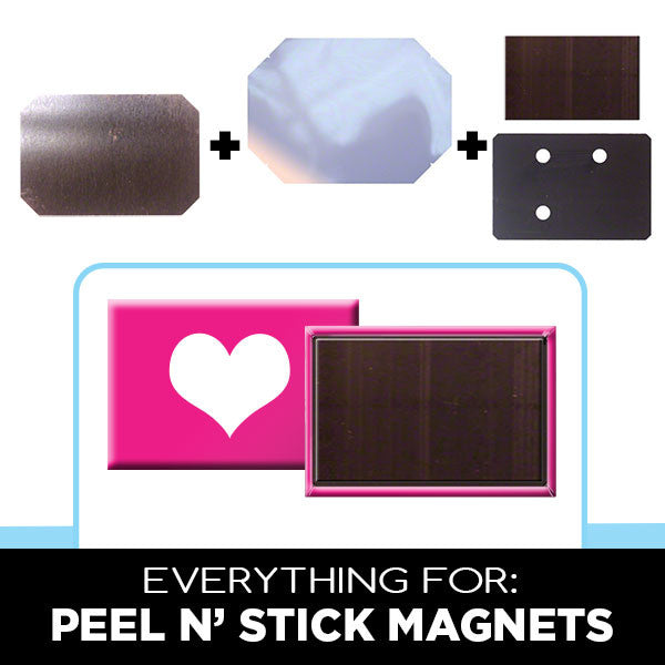 Peel n' Stick Magnet Parts for Family Photos