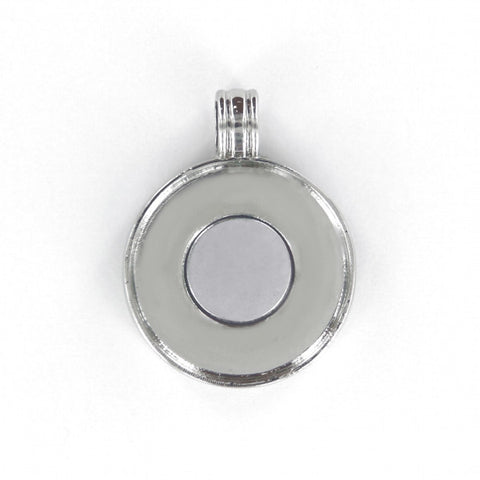 "Jewellery for buttons - Pendants for 1"" round buttons."