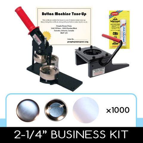 "2.25"" Tecre Button Business Kit"