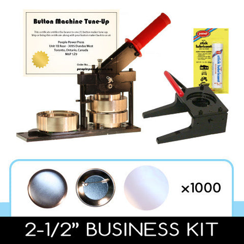 2.5 inch professional button maker kit