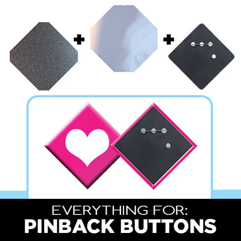 "Parts & Supplies for Standard 3 x 3"" Square Button Makers"