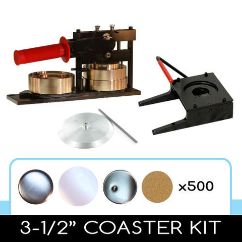 Button Maker Coaster Kit