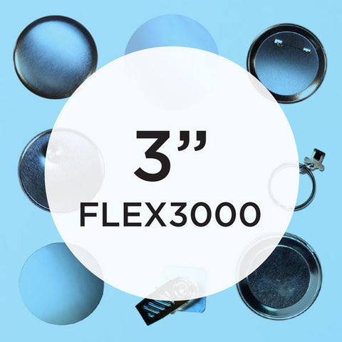 Everything for your FLEX3000 Button Maker
