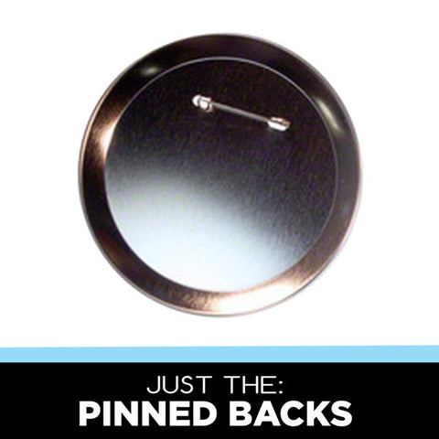 4 inch metal pinned backs for diy button making