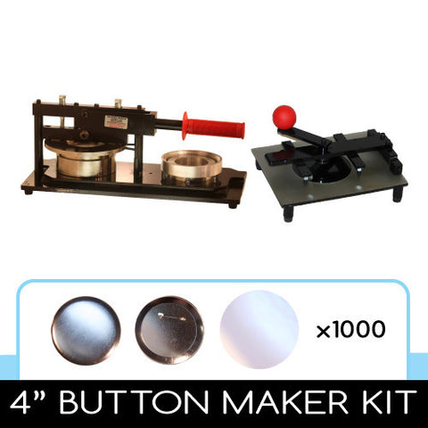"4"" button maker kit for diy photo buttons"