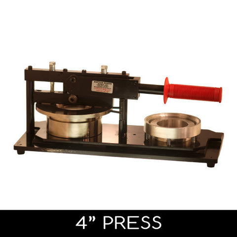 4 inch button making hand press