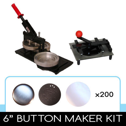 6 inch button maker kit