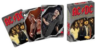 AC/DC Rock n' Roll playing cards Aquarius
