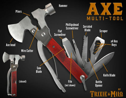 Axe multi-tool from Trixie & Milo
