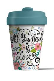 all you need is love coffee mug chic-mic