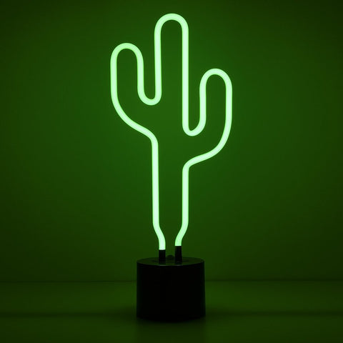 Great size for the bar Amped Cactus Neon Light
