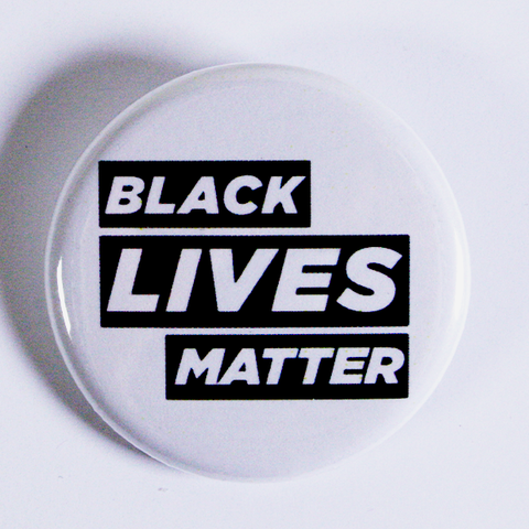Black Lives Matter Protest Pin