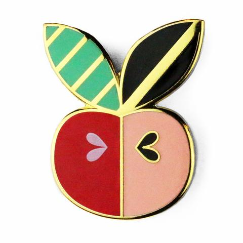 Enamel Pin Apple