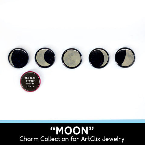 Button Charm Collections for Magnetic Button Jewelry