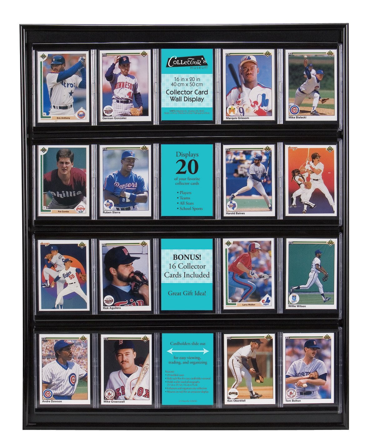 Collector Card Wall Display Display Your Card Collection