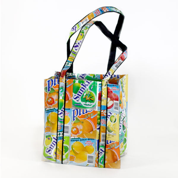Grocery Bag - Basura Recycled Juice Bags
