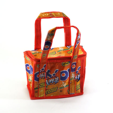 Upcycled Mini Lunch Bags - Basura Recycled Juice Bags