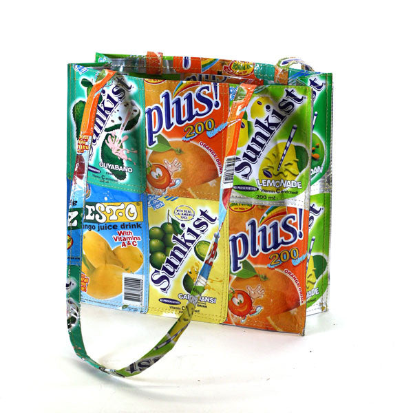 Tote Bag - Basura Recycled Juice Bags