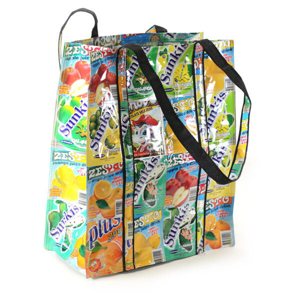 Trundle Bag - Basura Recycled Juice Bags