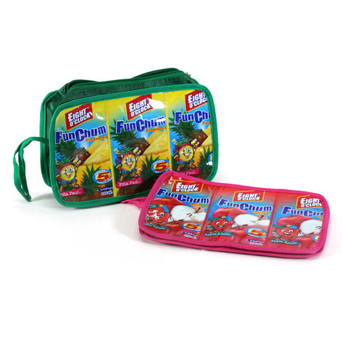 Toiletry Bag (Squared Edges) - Basura Recycled Juice Bags