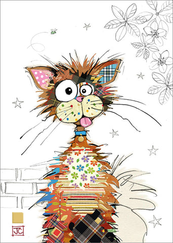 Ziggy Cat Zany Card