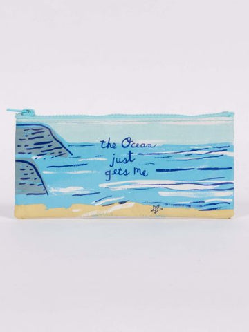Blue Q Ocean-Themed Pencil Case