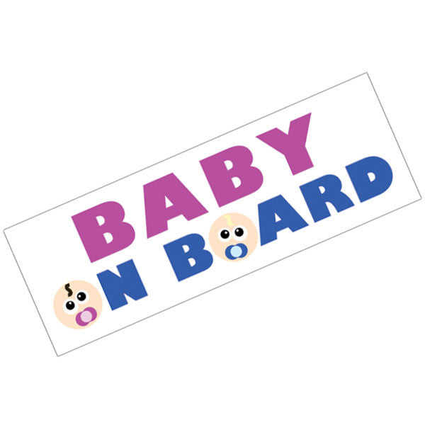 Vinyl Bumper Sticker Baby On Board