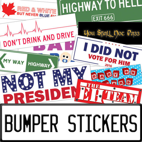 Vinyl Bumper Stickers by People Power Press