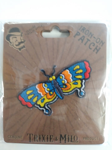 Cool Butterfly Embroidered Patch