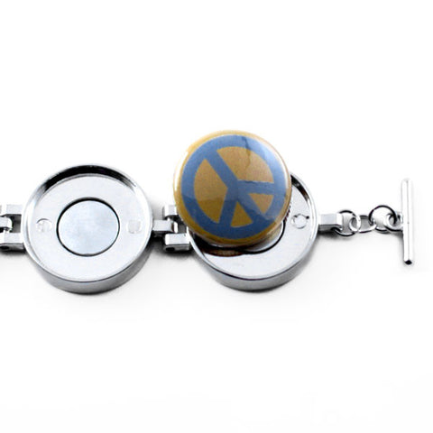 Magnetic Button Charm Jewelry