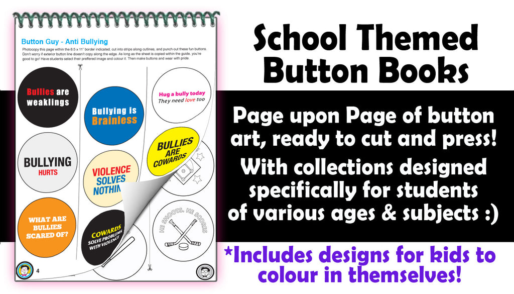 Button Designs for schools