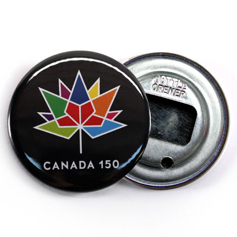 Canada 150 Official Logo Fridge Magnet Multicoloured