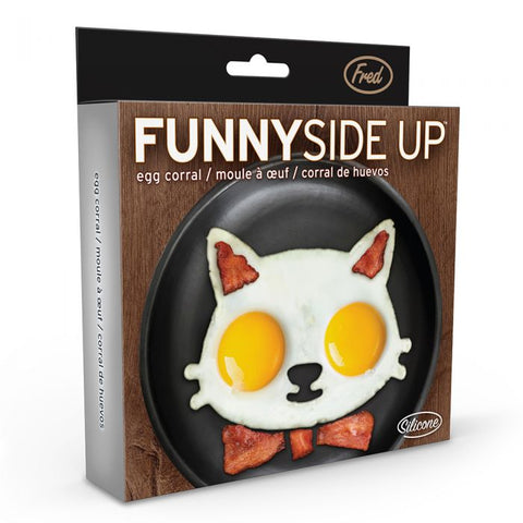 FRED Funny Side Up Egg Molds - Make Breakfast Fun