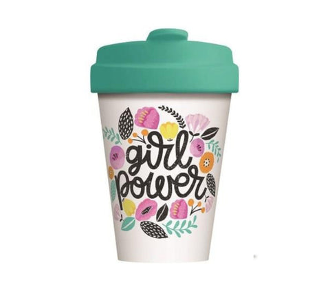 Bamboo Girl Power Travel Mug