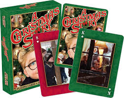 A Christmas Story Playing Cards Aquarius