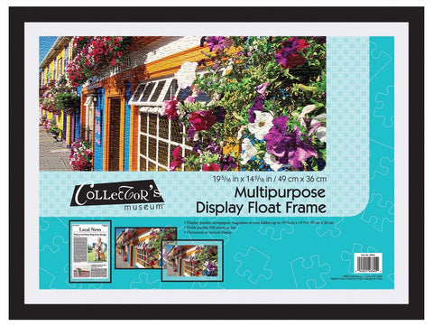CLEARANCE: Multipurpose Display Float Frame (19x14)
